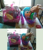 My Daughter's Easter Baskets by xavs-pixels