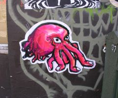 Finger Cephalopod paste-up by object000