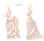 Historical Dress Base by thecity2011