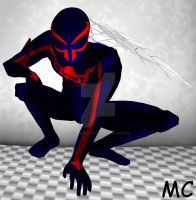 Spider-Man 2099 by The-Mind-Controller
