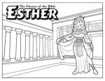 Esther coloring page by ArtistXero