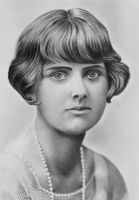 Pencil Portrait of Daphne du Maurier by LateStarter63