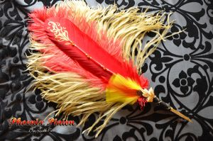 """Phoenix Pinion"" Dip Quill Pen by Ashalind"