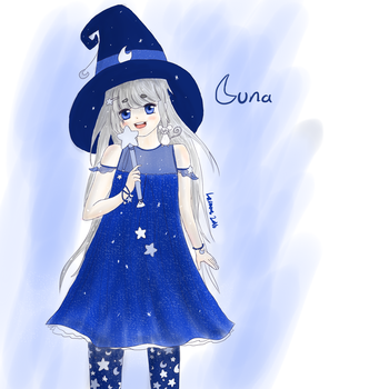 Luna witch by locomore