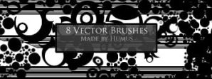 8 Vector Brushes by Hairy-Munky