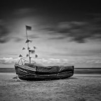 Fishing boat by hunterside