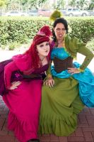 Drizella and Anastasia 3 by BlueeyesDante