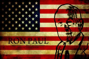 ron paul 2 by Bartistictouch