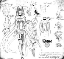 Kasai Possible Outfit Sheeeet by FoxOfTwilight