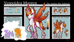 *~Gift~* Mayren Reference Sheet by halfway-to-insanity