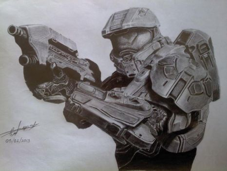 Master Chief by ChrisOmar