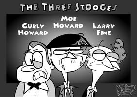 The Three Stooges by Moon-manUnit-42