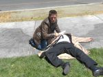 Cosplay: Dean and Castiel 9 by SharysAogail