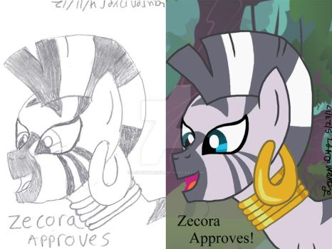 This Message is Zecora Approved! by lcponymerch