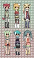 More Kitty Adopts [closed] by WanNyan