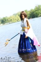 Final Fantasy X: Yuna #1 by AilesNoir
