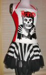 misfits stripe dress by smarmy-clothes