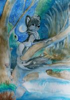 laying on the tree by Sharley102