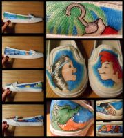 Neverland Shoes by ecko-gecko