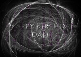 Happy Birthday Dani by EmpireKing