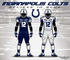 Indianapolis Colts Uniform Concept by AiDub