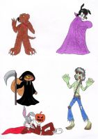 Halloween vics by frecleface