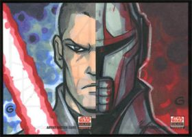 SWG5 Sketch Cards: Starkiller by grantgoboom