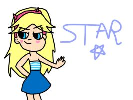 Star Butterfly (Summer Look) by MigsGarcia5127