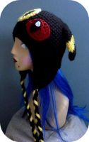Crochet Umbreon Beanie 1 by AAMurray
