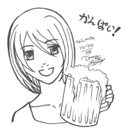 This My Friends is a Pint by chiyokins