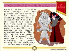 Another Princess Story - Encased in Metal by Dragon-FangX
