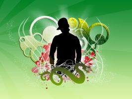 Hip Hop Background by rodrigovp