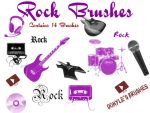 Rock Brushes by Donyle
