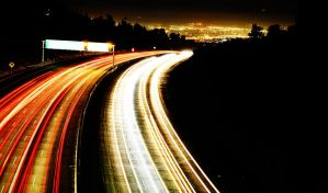 Road Lights by ahulsey