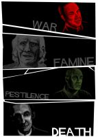 The Four by trenchcoatedone