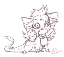 Practice: Chibi Lumina by blacktigerfox