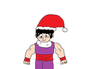 Gohan with Santa hat by Simpsonsfanatic33