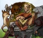 Zevran's Forest Friends by PayRoo