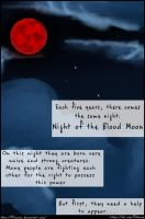 The Demon of Blood Moon page 1 by Fillmory
