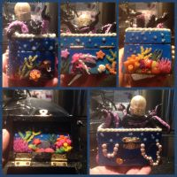 Little Mermaid inspired jewelry box by Brownie314