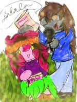 Chelsie and bloom c: by LalaLovesRainbows