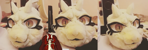 alice fursuit head wip by pinuh