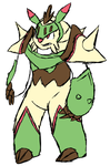 Pokemon Redesign - Chesnaught by Inika-Hero