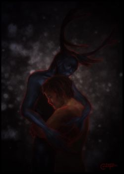 Will and the Wendigo - In Dreams by thecannibalfactory
