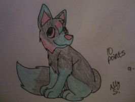 Adoptable Fox-10 Points- OPEN by Wolfies--Adopts