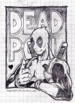 Deadpool quickie by Mush647
