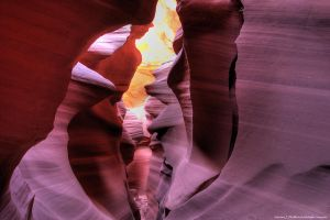 Lower Antelope Canyon 5 HDR by photoboy1002001