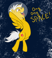 Space Pony by saucydragun