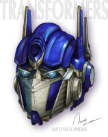 Optimus Prime by ilxwing