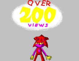 OVER 200 VIEWS? SWEET by blase005